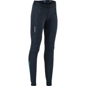 Damskie turystyczne spodnie Silvini Soracte WP1145 black/blue, Silvini