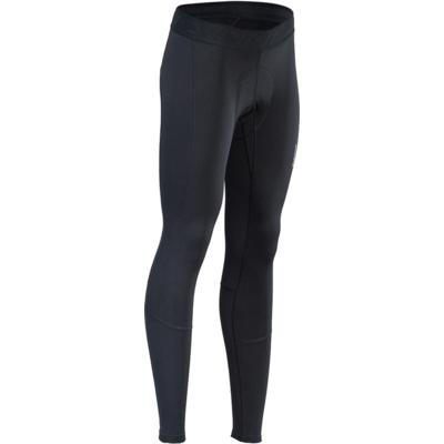 Damskie zimowe spodnie rowerowe z podpinką na rower Silvini Rapone Pad WP1732 czarny, Silvini