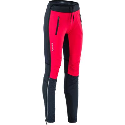 Damskie turystyczne spodnie Silvini Soracte Pro WP1744 black-red