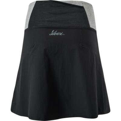 Damska rowerowa spódnica Silvini Salso WS1217 black, Silvini