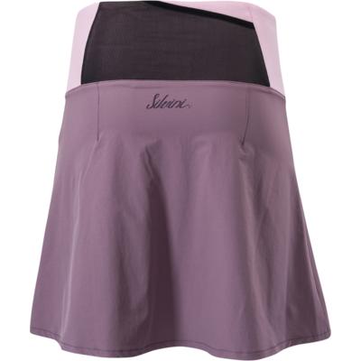 Damska rowerowa spódnica Silvini Salso WS1217 śliwkowo-fioletowy, Silvini