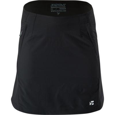 Damska rowerowa spódnica Silvini Invio WS1624 black, Silvini