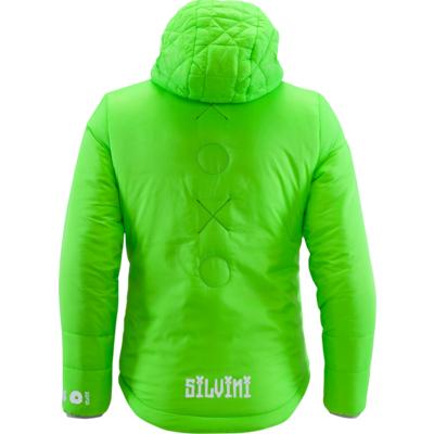 Dziecięca kurtka Silvini Primaloft Seisa CJ1300 green, Silvini