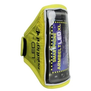 Universalny futerał Raidlight Smartphone  Arm Belt XL + LED, Raidlight