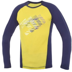 Koszulka Direct Alpine Furry Long indigo / aurora (echo), Direct Alpine