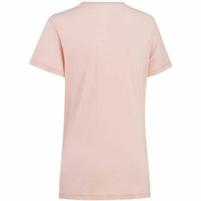 Damskie stylowe koszulka z krótkim rękawem Curry Traa Tvilde 622450, różowa, Devold