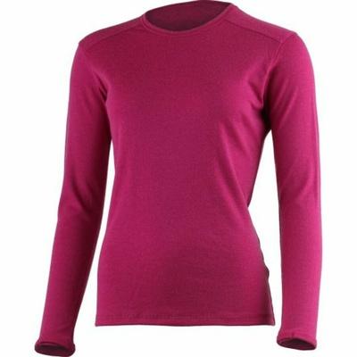 Damska bluza z merynosów Lasting BERTA-9088 czarny, Lasting