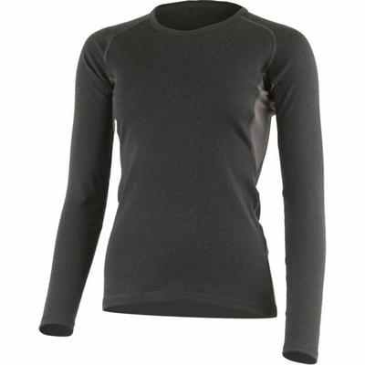Damska Lasting merynos bluza BERTA-9088 czarny, Lasting