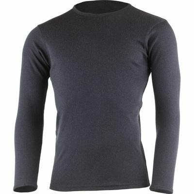Męska bluza z merynosów Lasting BELO-5959 niebieska, Lasting