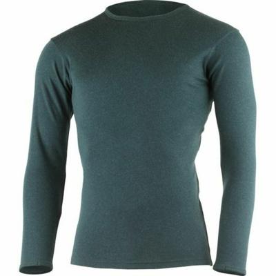 Męski merynos bluza Lasting BELO-5757 naftowa, Lasting
