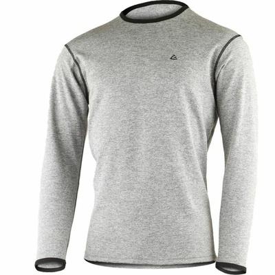 Męska bluza z merynosów Lasting WM1-3189 siwy, Lasting