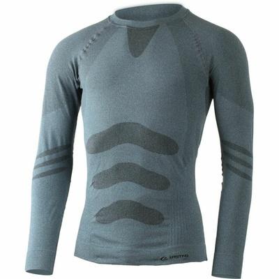 Męskie funkcjonalne koszulka Lasting Apol niebieskie