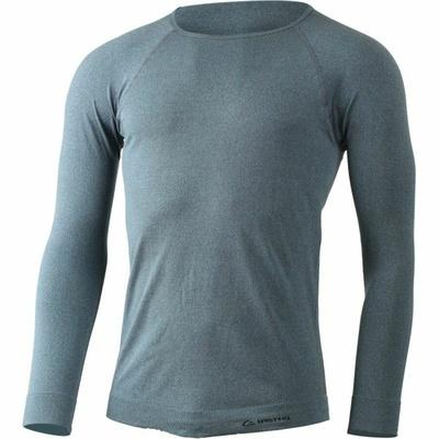 Męska koszula funkcyjna Lasting MOL-5880 niebieskie akcenty, Lasting