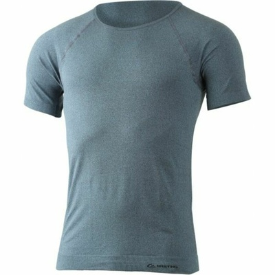 Męskie funkcjonalne koszulka Lasting MOS-5880 niebieski podkreśla, Lasting