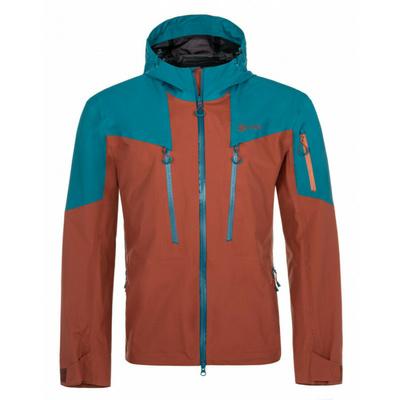 Męska kurtka outdoorowa Kilpi LEXAY-M ciemno czerwony, Kilpi