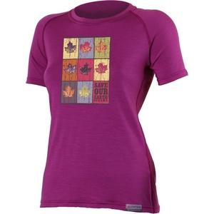 Koszulka Lasting LISTA 4848 rużowy wełniane, Lasting