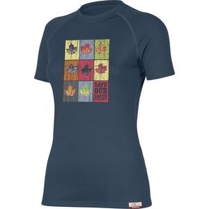 Koszulka Lasting LISTA 5656 niebieskie wełniane, Lasting