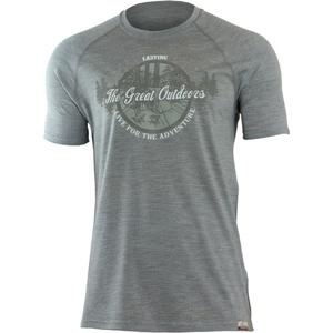Merino koszulka Lasting LUCAS 8484 szare, Lasting