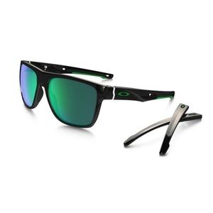 Przeciwsłoneczna okulary OAKLEY Crossrange XL Pol Black w/ Jade Irid OO9360-0258, Oakley