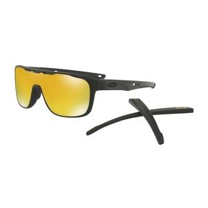 Przeciwsłoneczna okulary OAKLEY Crossrange Shield Mtt Black w/ 24K Irid OO9387-0631, Oakley