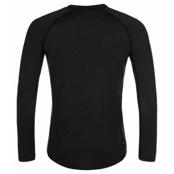Męska koszula funkcyjna długi rękaw Kilpi MAVORA TOP-M czarny, Kilpi