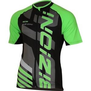 Cyklo bluza Lasting MD74 czarno-zielony, Lasting