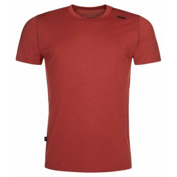 Męska koszula funkcyjna Kilpi MERIN-M ciemno czerwony, Kilpi