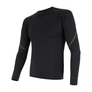 Męskie koszulka Sensor MERINO AIR czarne 17200005, Sensor
