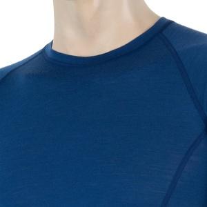 Męskie koszulka Sensor MERINO AIR ciemno niebieskie 17200006, Sensor