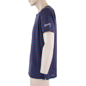 Męskie koszulka Sensor SENSOR MERINO AIR PT niebieski / bordowy 18200012, Sensor