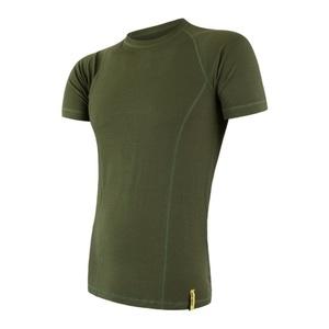 Męskie koszulka Sensor MERINO DOUBLE FACE safari 17200030, Sensor