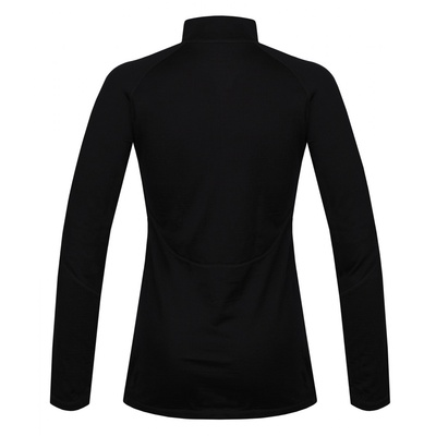 Damska koszula termiczna dl. tuleja z zamkiem błyskawicznym Husky Merino czarny, Husky