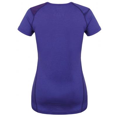 Damska koszula termiczna Husky Owca Merynos szaro-purpurowy, Husky