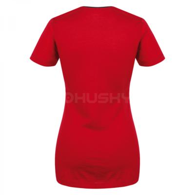 Damska koszula termiczna Husky Merynos czerwony, Husky