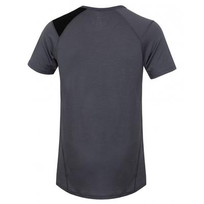 Męskie termo koszulka Husky Merynos Pies szary, Husky