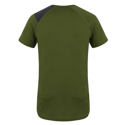 Męskie termo koszulka Husky Owca Merynos khaki, Husky
