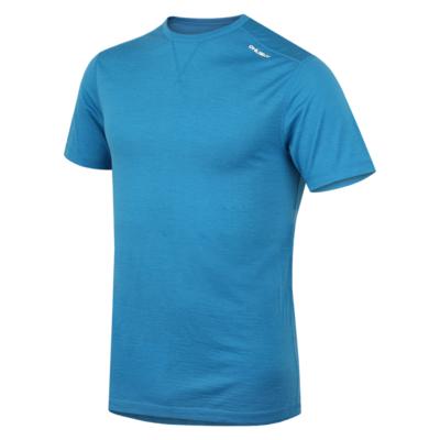 Męskie termo koszulka Husky Merino niebieski, Husky