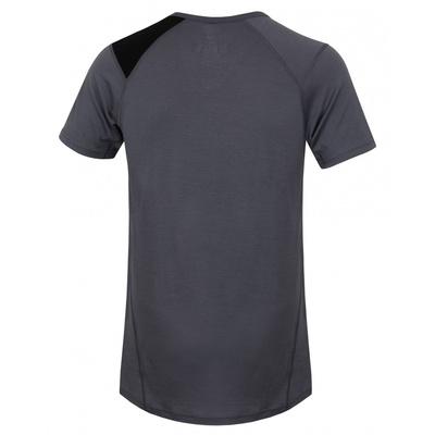 Męskie termo koszulka Husky Wilk Merino szary, Husky