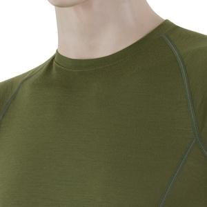 Męskie koszulka Sensor Merino Wool Active safari 17200019, Sensor