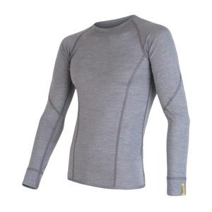 Męskie koszulka Sensor Merino Wool Active siwy 17200020, Sensor