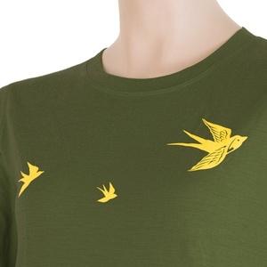 Damskie koszulka Sensor MERINO ACTIVE PT SWALLOW safari 17200029, Sensor