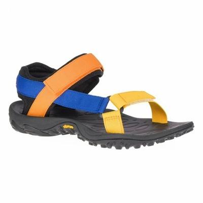 Sandały męskie Merrel l Kahuna Web niebieski/pomarańczowy, Merrel