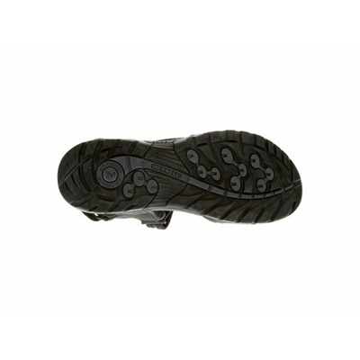 Sandały męskie Merrel l Sandspur Oak czarny/granit, Merrel