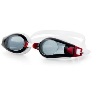 na basen okulary Spokey ROGER czarno-czerwone, Spokey
