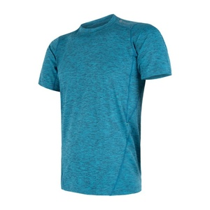 Męskie koszulka Sensor MOTION niebieskie 17200064, Sensor