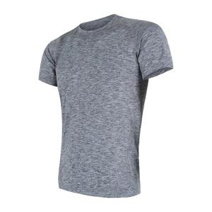 Męskie koszulka Sensor MOTION szare 17200063, Sensor