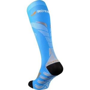 Kompresyjne podkolanówki ROYAL BAY® Neon 2.0 Blue 5099, ROYAL BAY®