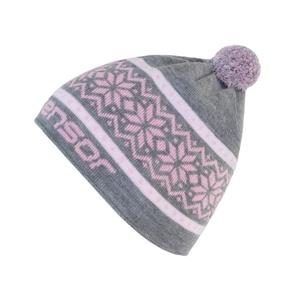 czapka Sensor NORWEGIA siwy 17200098, Sensor