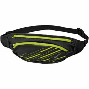 Saszetka do pasa Nike Large Capacity  Waistpack Czarny / Volt / srebrny, Nike