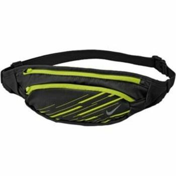 Saszetka do pasa Nike Large Capacity  Waistpack Black/Volt/Silver , Nike